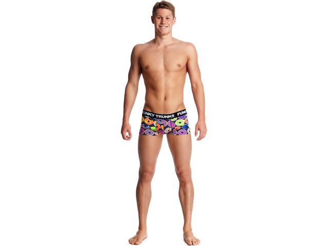 Funky Trunks Underwear Boxer de bain Homme, dunking donuts